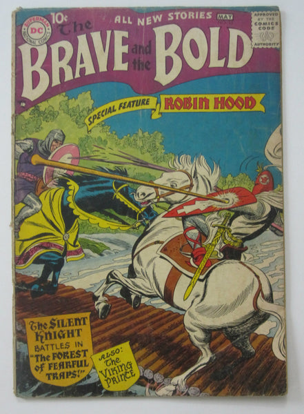 Brave and the Bold #11(Apr/May 1957, DC) Russ Heath & Joe Kubert art G+ 2.5