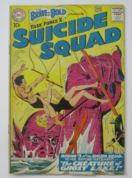 Brave and the Bold #27 (Jan 1960, DC) Suicide Squad G/VG 3.0