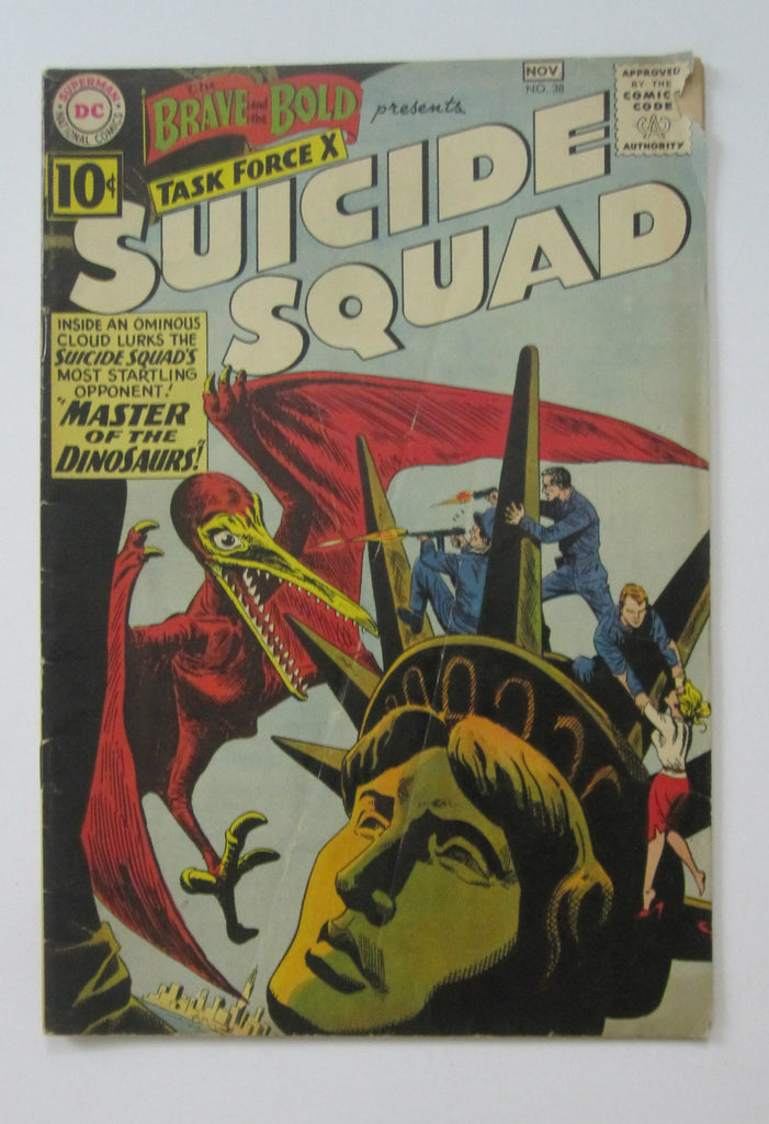 Brave and the Bold #37 (Aug/Sep 1961, DC) Suicide Squad VG/FN 5.0