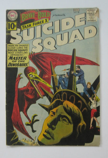 Brave and the Bold #38 (Oct/Nov 1961, DC) Suicide Squad G/VG 3.0