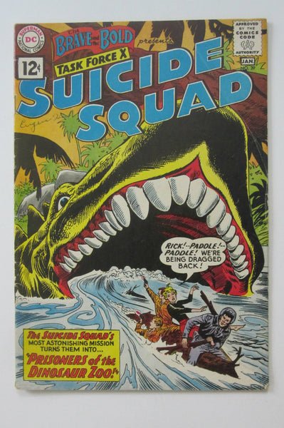 Brave and the Bold #39 (Jan 1962, DC) Suicide Squad VG 4.0