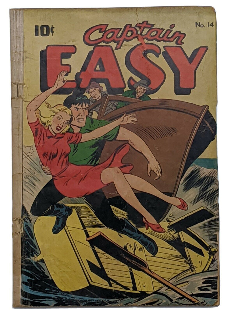 Captain Easy #14 (Oct 1948, Pines) Good 2.0