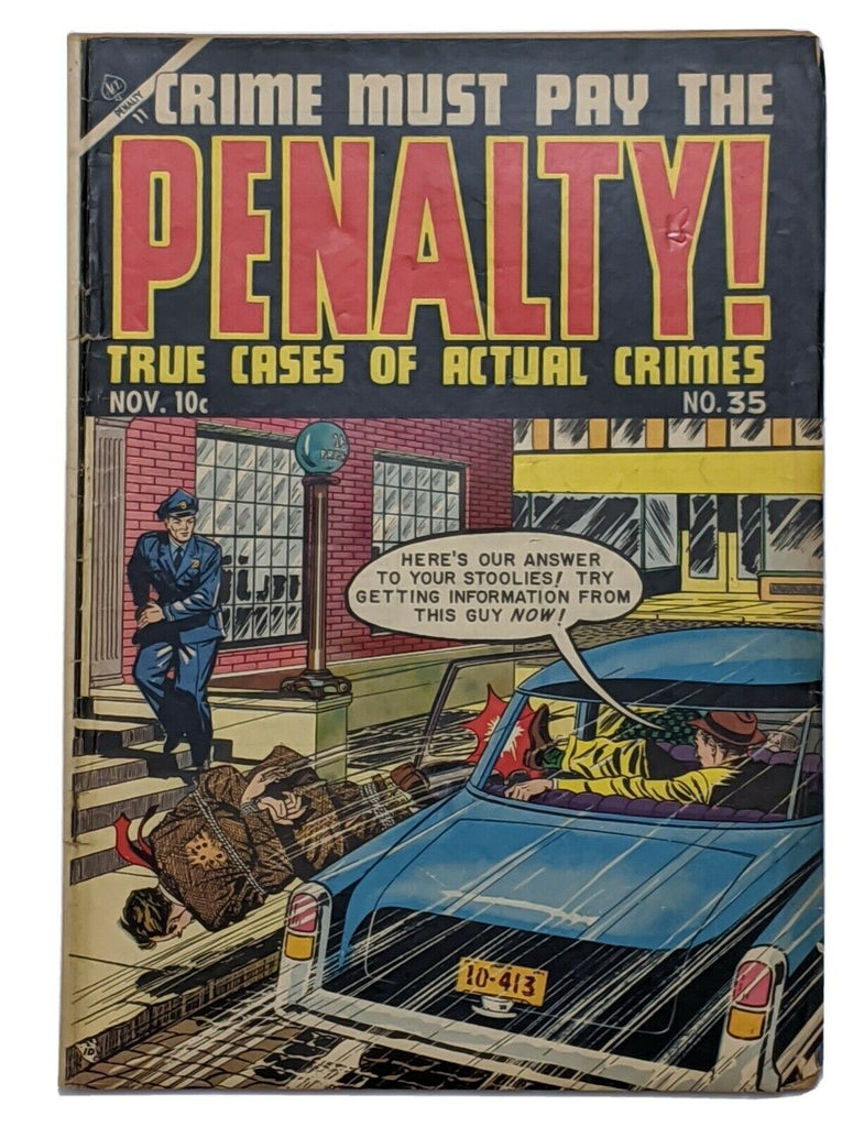 Crime Must Pay The Penalty #35 (Nov 1953, Ace) G/VG 3.0