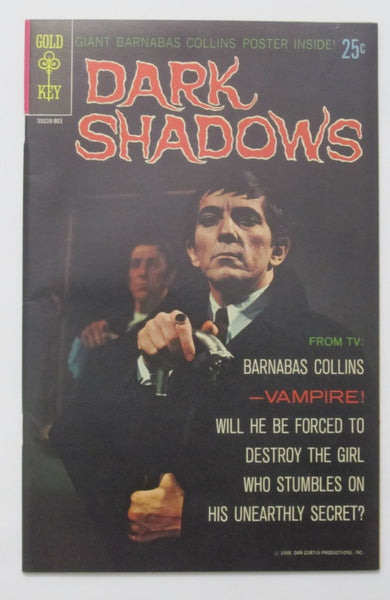 Dark Shadows #1 (Mar 1969, Gold Key) VF+ 8.5