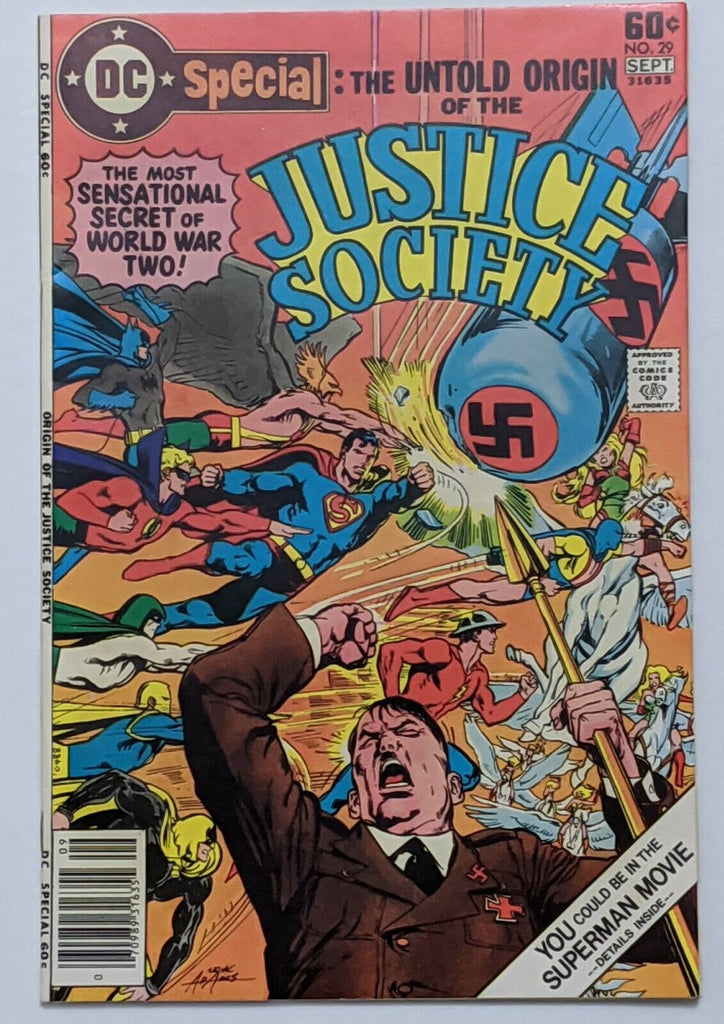 DC Special: The Untold Story Of The Justice Society #29 NM- 9.2 Neal Adams cvr