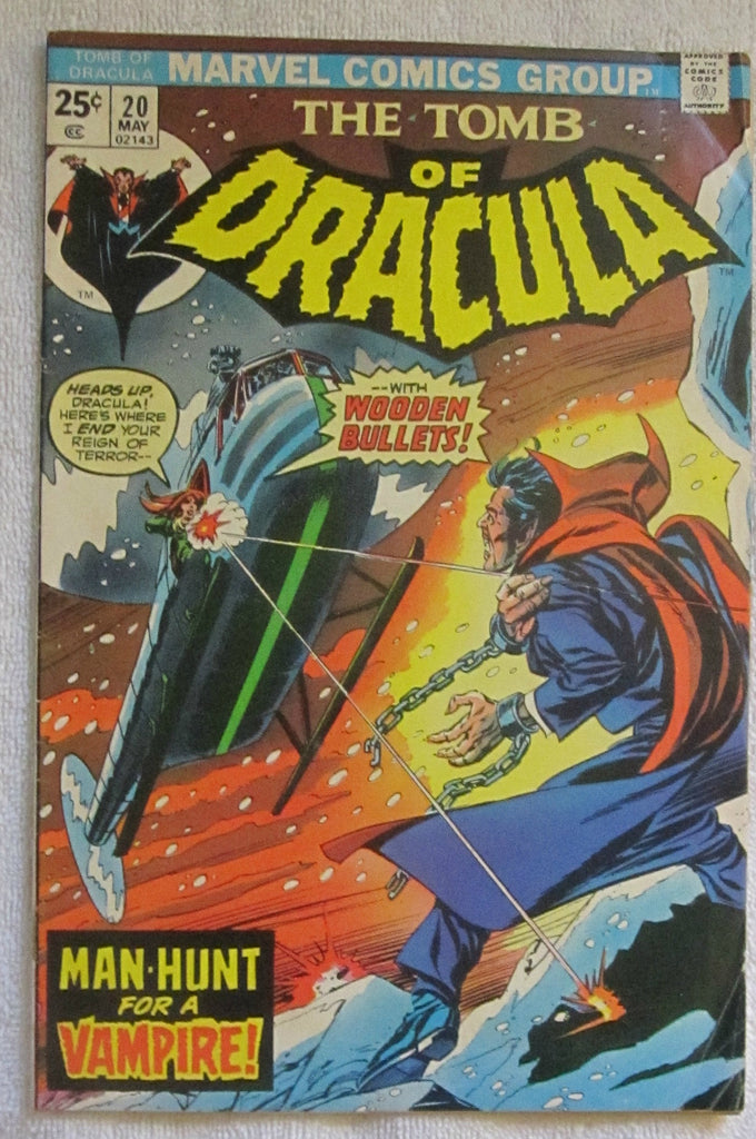 Tomb of Dracula #20 (May 1974, Marvel) VG- 3.5