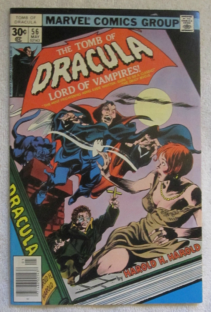 Tomb of Dracula #56 (May 1977, Marvel) F/VF 7.0