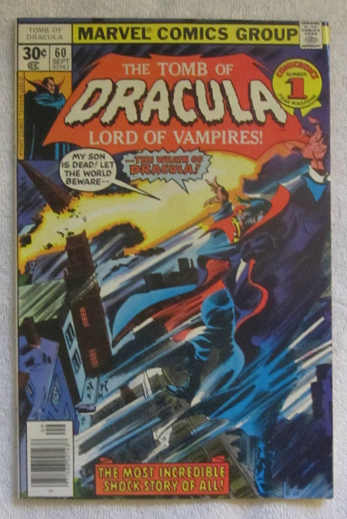 Tomb of Dracula #60 (Sep 1977, Marvel) High Grade VF+ 8.5