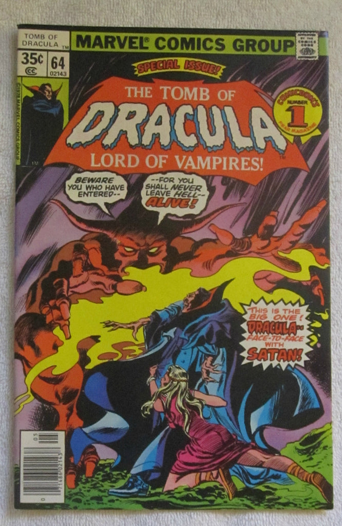 Tomb of Dracula #64 (May 1978, Marvel) F/VF 7.0