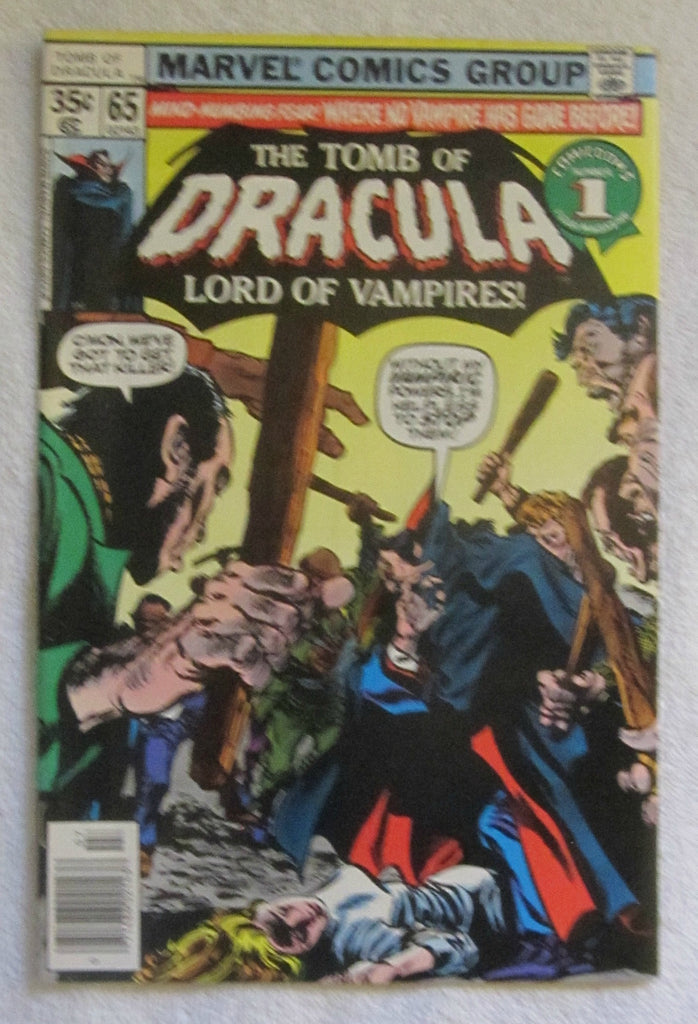 Tomb of Dracula #65 (Jul 1978, Marvel) F/VF 7.0
