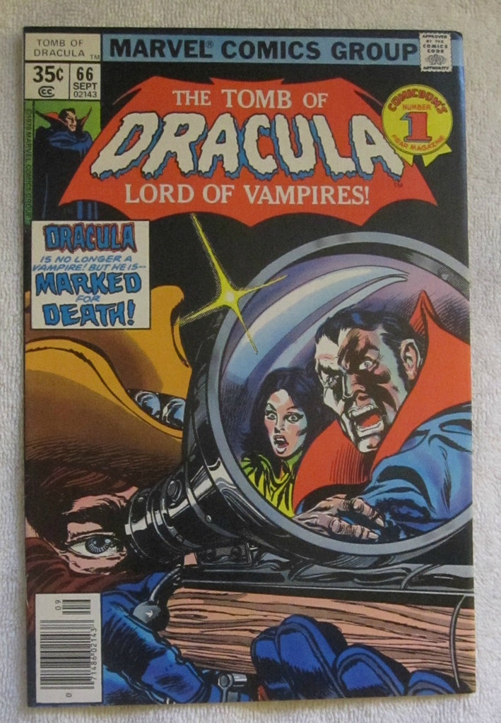Tomb of Dracula #66 (Sep 1978, Marvel) High Grade VF+ 8.5
