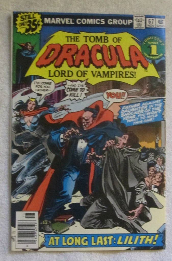 Tomb of Dracula #67 (Nov 1978, Marvel) VF- 7.5