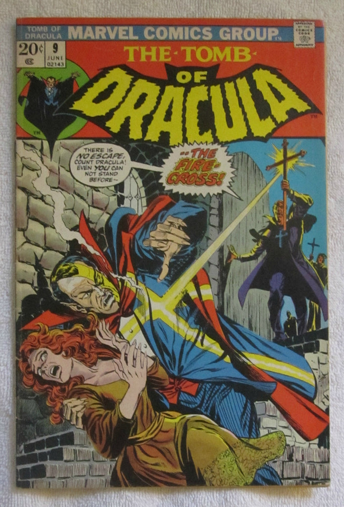 Tomb of Dracula #9 (Jun 1973, Marvel) FN- 5.5