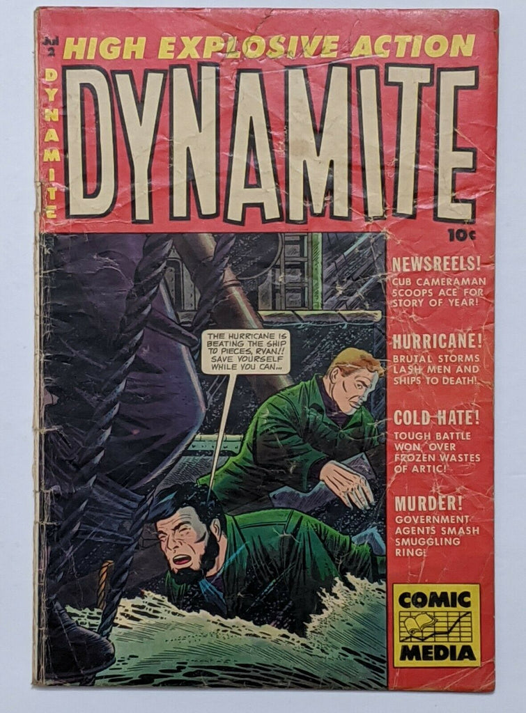 Dynamite #2 (Jul 1953, Comic Media) Good 2.0