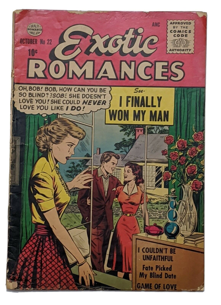 Exotic Romances #22 (Oct 1955, Quality) Good 2.0