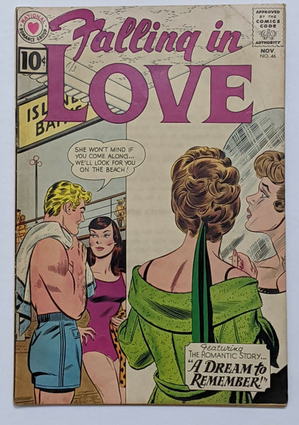 Falling In Love #46 (Nov 1961, DC) VG+ John Romita pencils on cvr