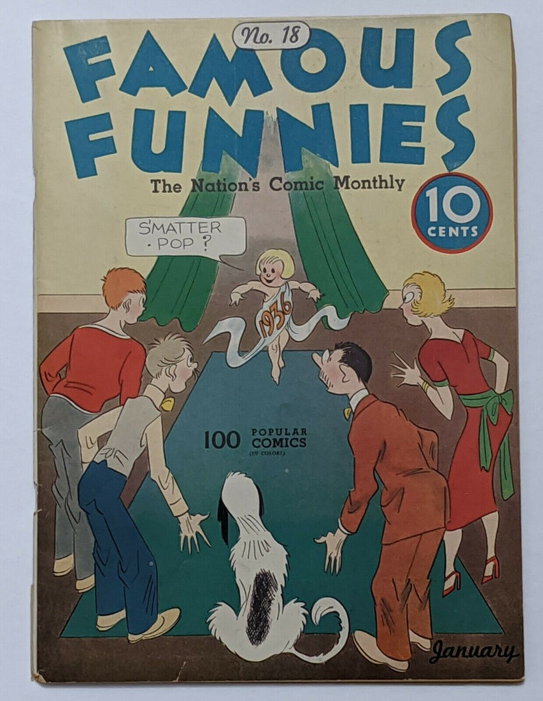 Famous Funnies #18 (Jan 1936, Eastern Color) VG+ 4.5 Buck Rogers