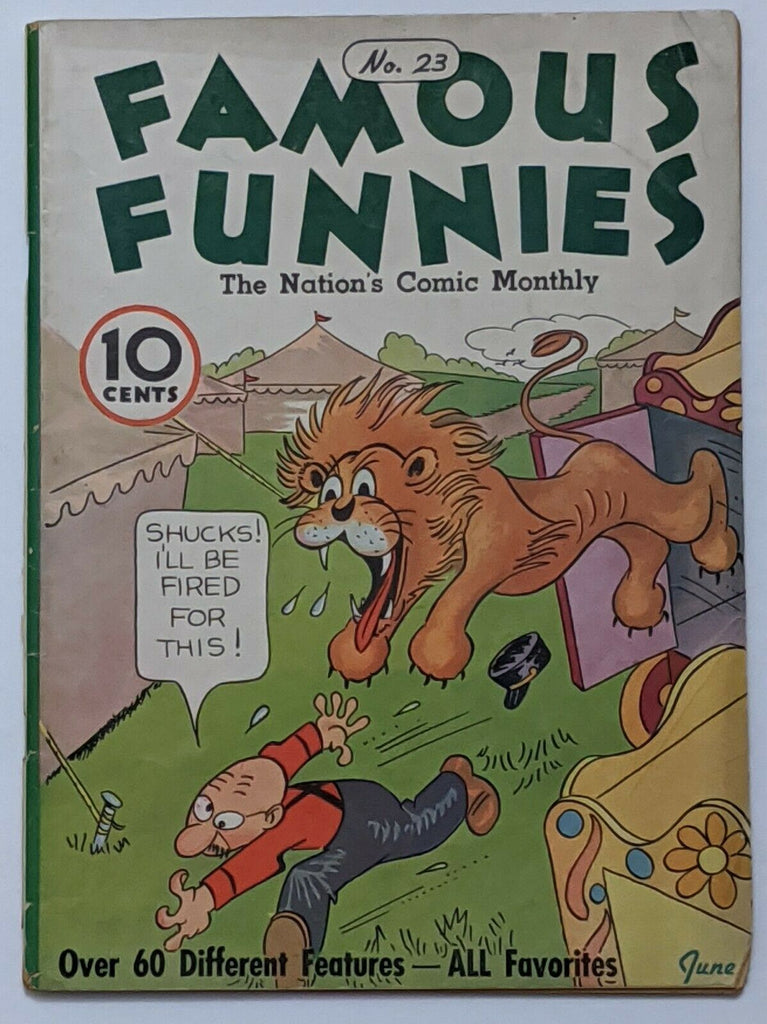 Famous Funnies #23 (Jun 1936, Eastern Color) VG 4.0