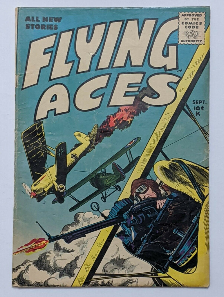 Flying Aces #2 (Sept 1955, Key) VG 4.0