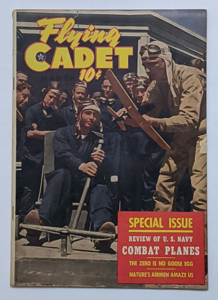 Flying Cadet Vol 2 No 3 (Mar 1944, St. John) VG- 3.5