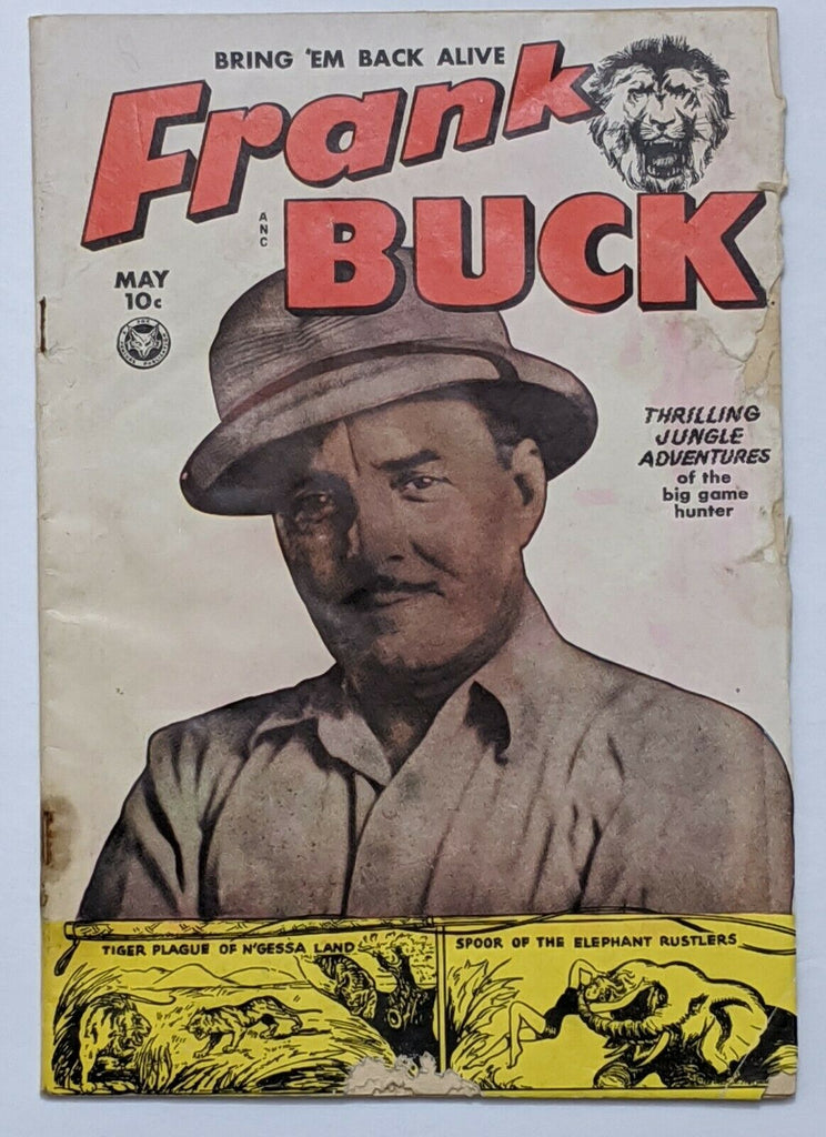 Frank Buck #70 (May 1950, Fox) Good- 1.8 Wally Wood art