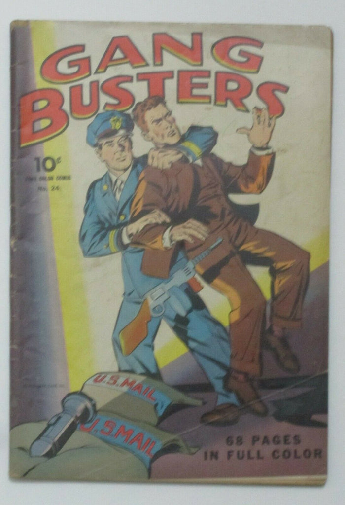 Four Color #24 Gang Busters (1943, Dell) VG 4.0
