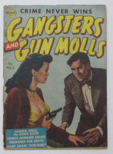 Gangsters and Gun Molls #3 (Mar 1952, Avon) Fair 1.0