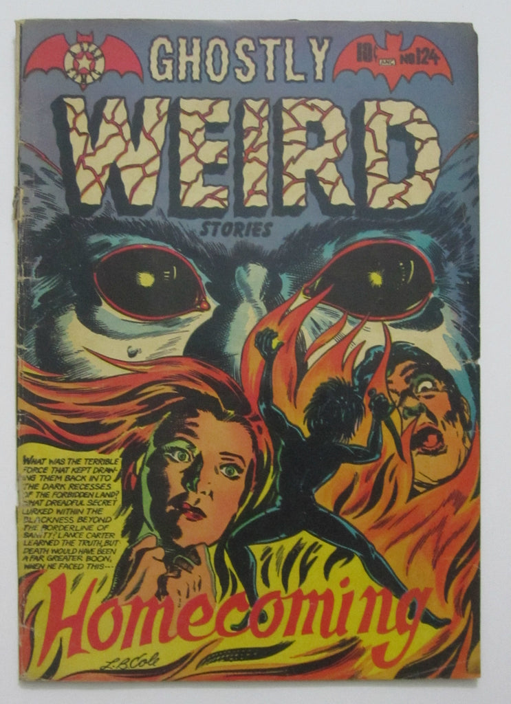 Ghostly Weird Stories #124 (Sep 1954, Star Publications) L.B. Cole cvr Good 2.0