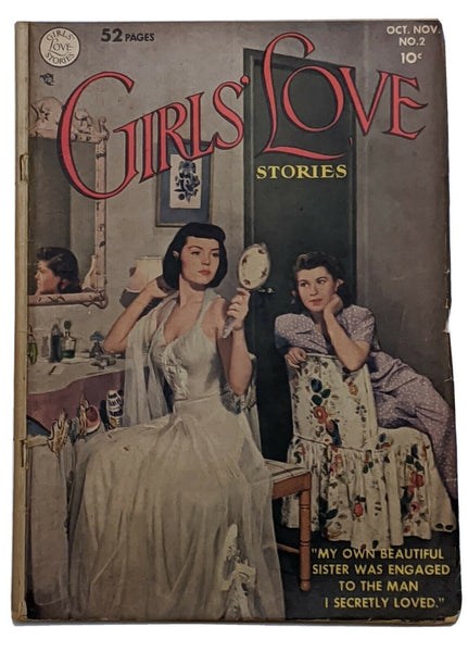 Girl's Love Stories #2 (Nov 1949, DC) G/VG 3.0 Alex Toth art