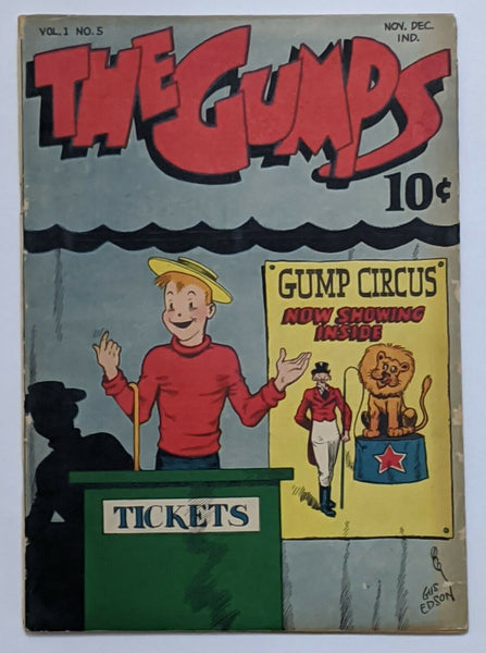 The Gumps #5 (Dec 1947, Lafayette Street) VG 4.0