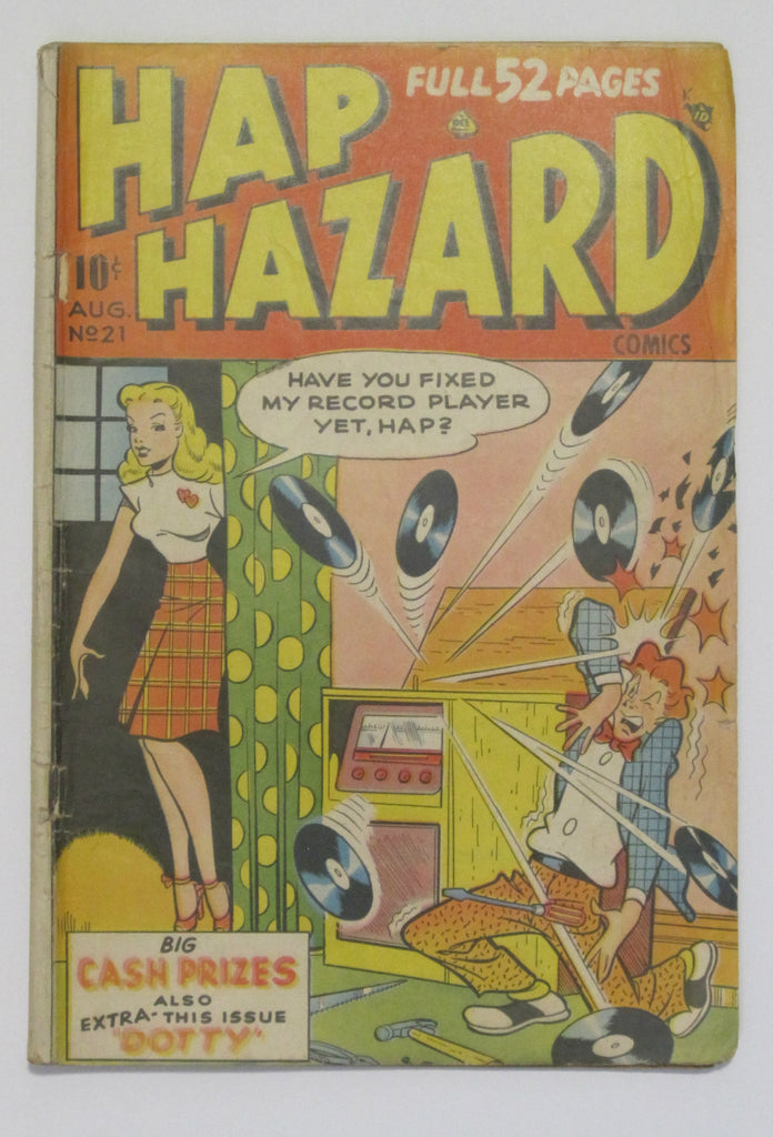 Hap Hazard #21 (Aug 1948, Ace)