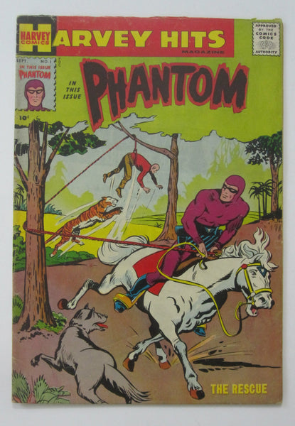 Harvey Hits #1 (Sep 1957, Charlton) Phantom VG/FN 5.0