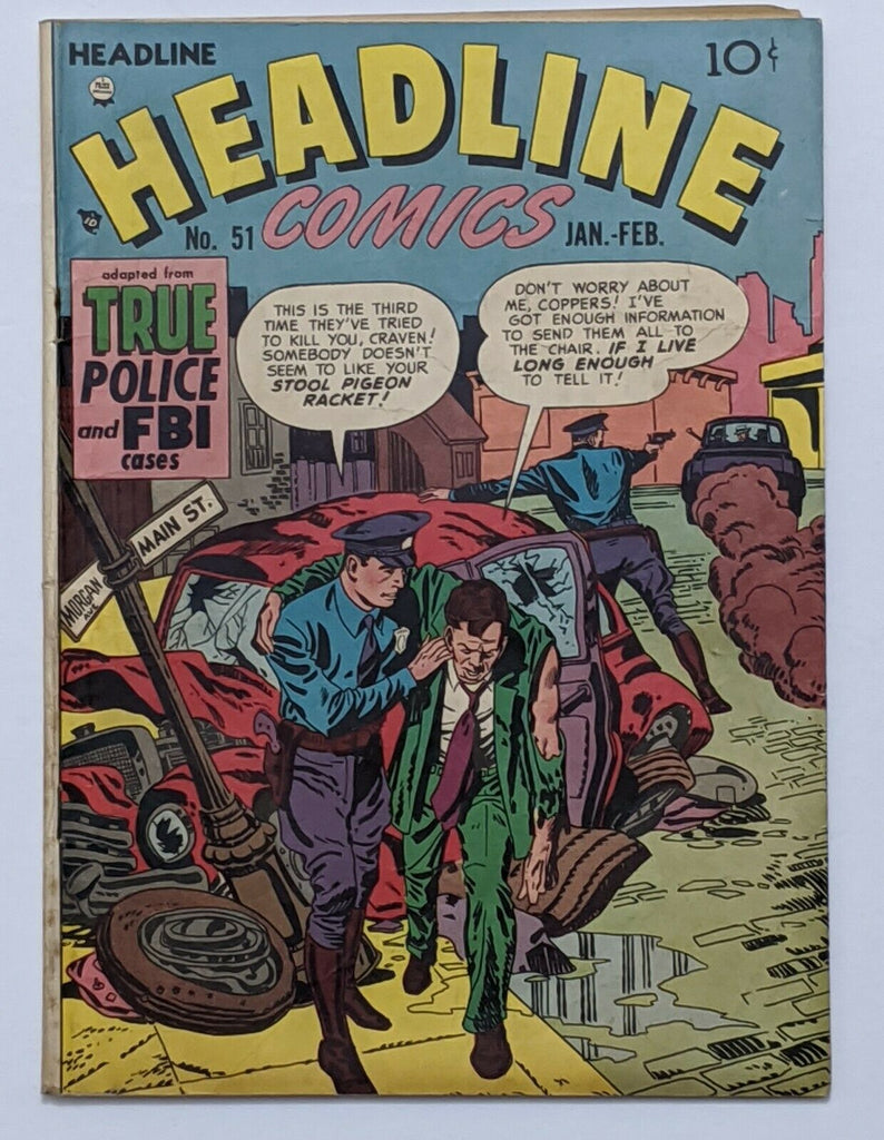 Headline Comics #51 (Feb 1952, Prize) VG- 3.5