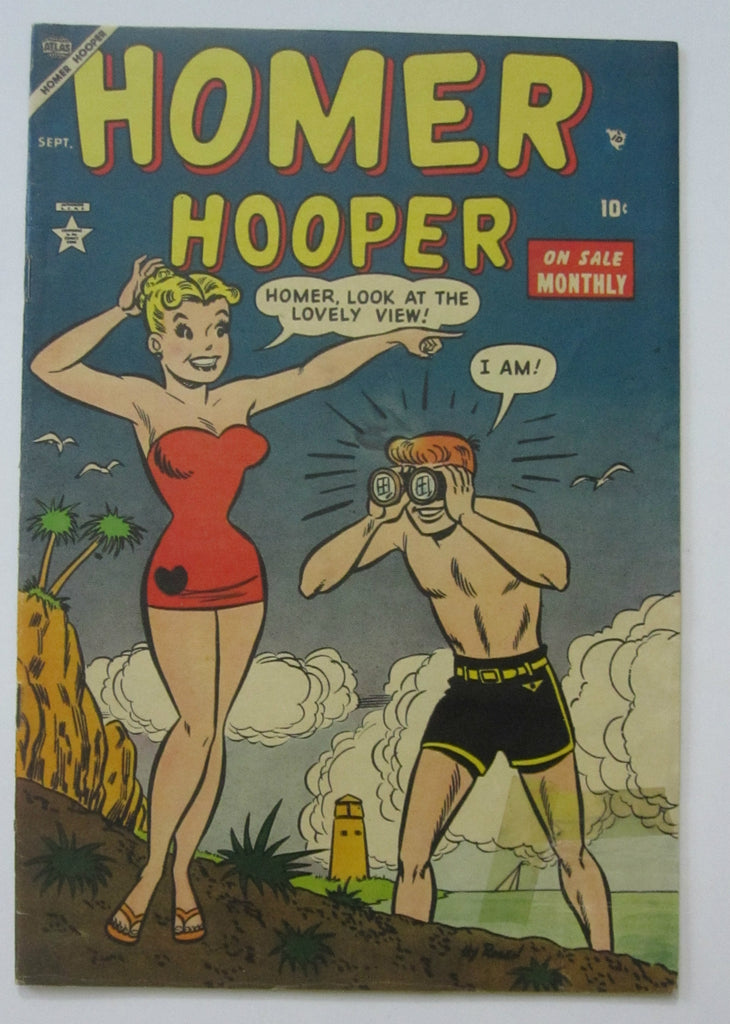 Homer Hooper #3 (Sep 1953, Atlas) Good 2.0