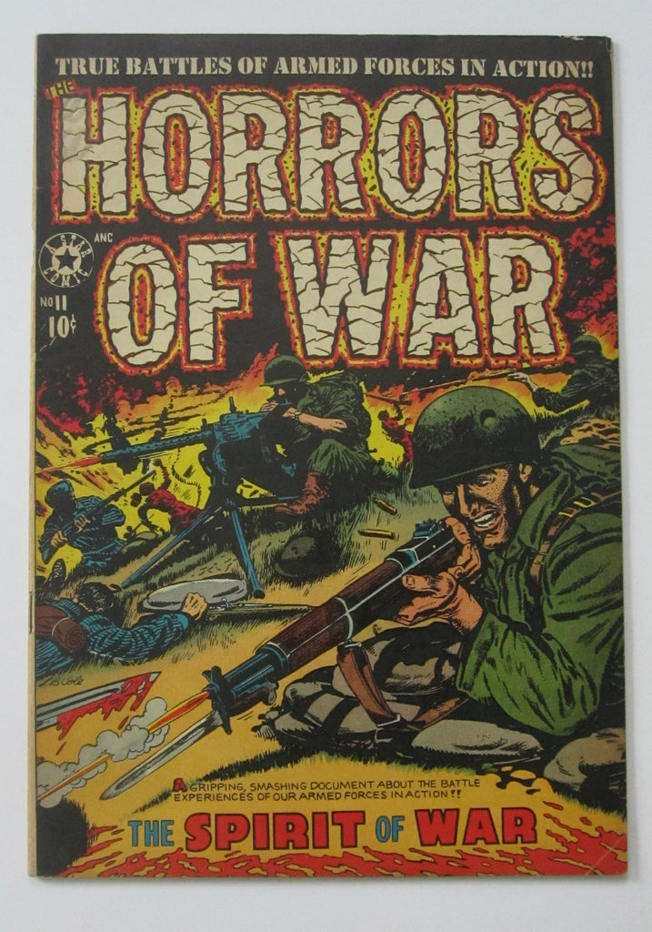 Horrors of War #11 (Jan 1953, Star) L.B. Cole cvr FN/VF 7.0