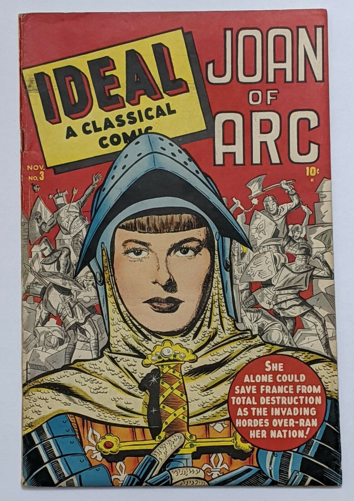 Ideal #3 Joan of Arc (Nov 1948, Timely) VG 4.0 Used in SOTI