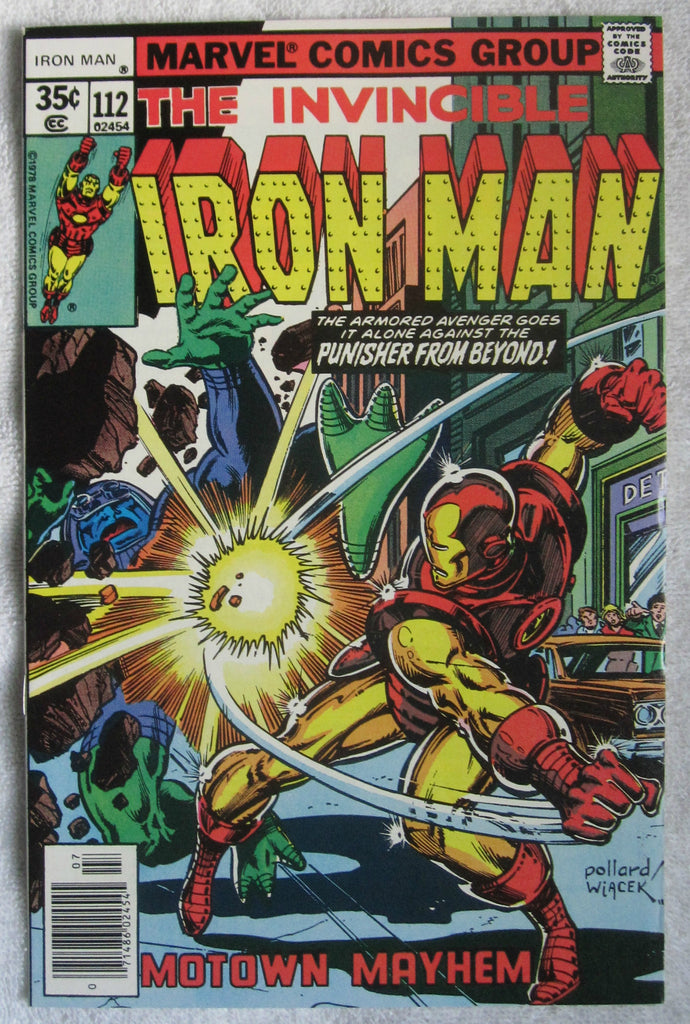 Iron Man #112 (Jul 1978, Marvel) High Grade VF/NM 9.0