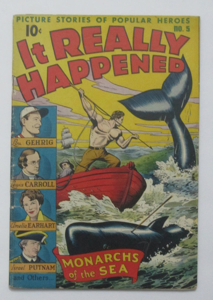 It Really Happened #5 (Oct 1946, Pines) VG 4.0 Alex Schomburg cover