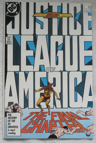 Justice League of America #261 (Apr 1987, DC) Last Issue NM 9.2