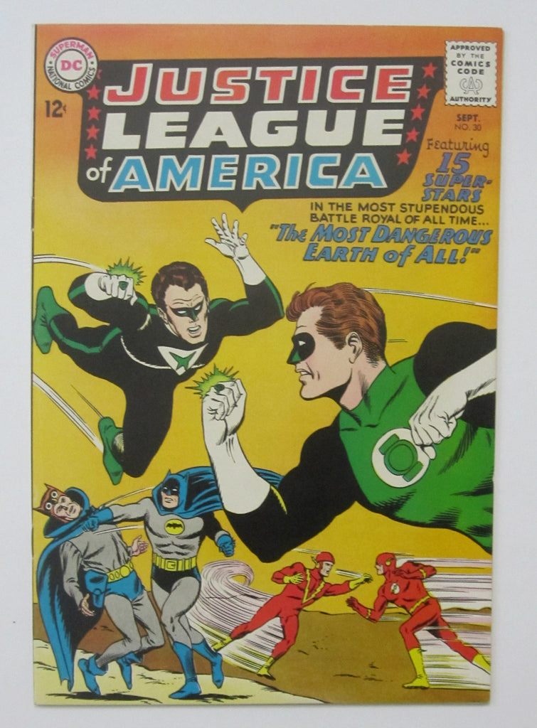 Justice League of America #30 (Sep 1954, DC) Crime Syndicate app VF+ 8.5