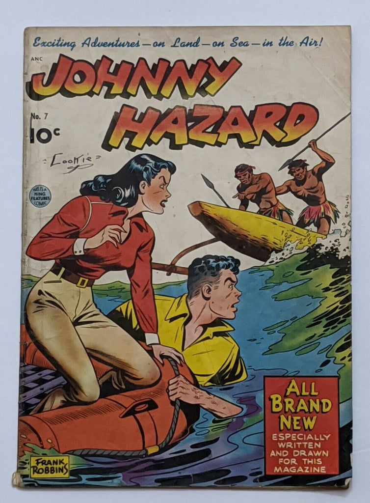 Johnny Hazard #7 (Feb 1949, Pines) Good 2.0