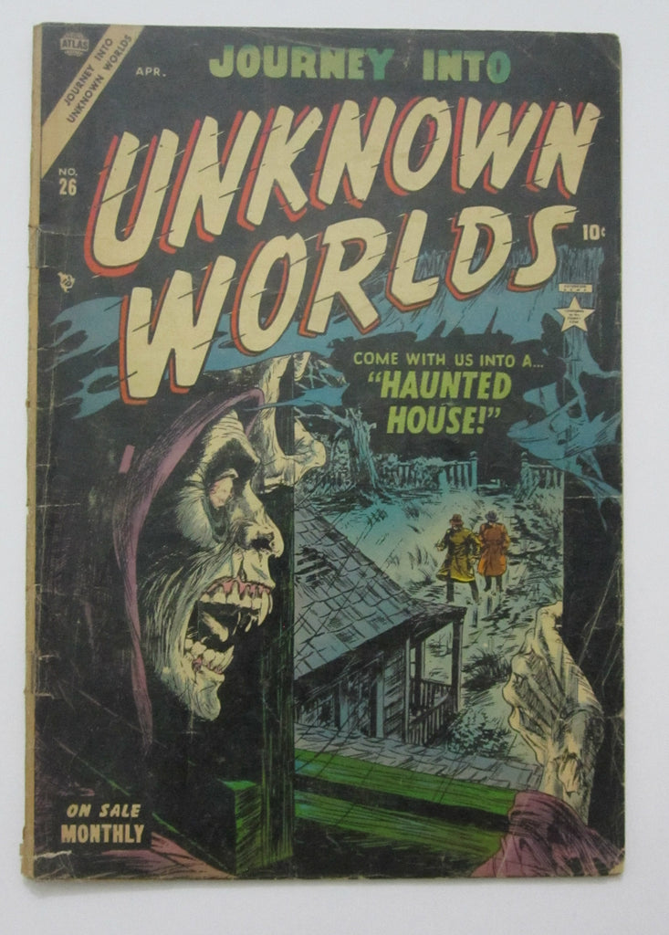 Journey Into Unknown Worlds #26 (Apr 1954, Atlas) Good 2.0