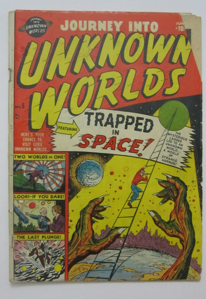 Journey Into Unknown Worlds #5 (Jun 1951, Marvel) GD- 1.8