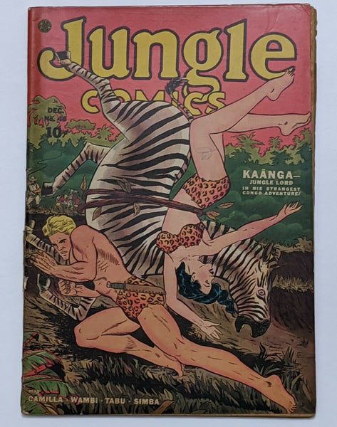 Jungle Comics #48 (Dec 1943, Fiction House) Good 2.0
