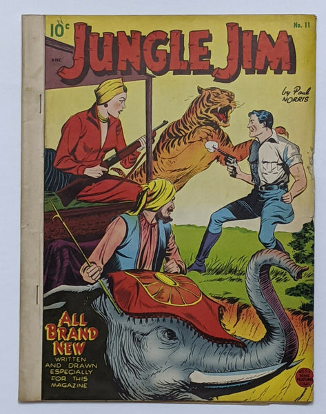 Jungle Jim #11 (Jan 1949, Pines) VG- 3.5