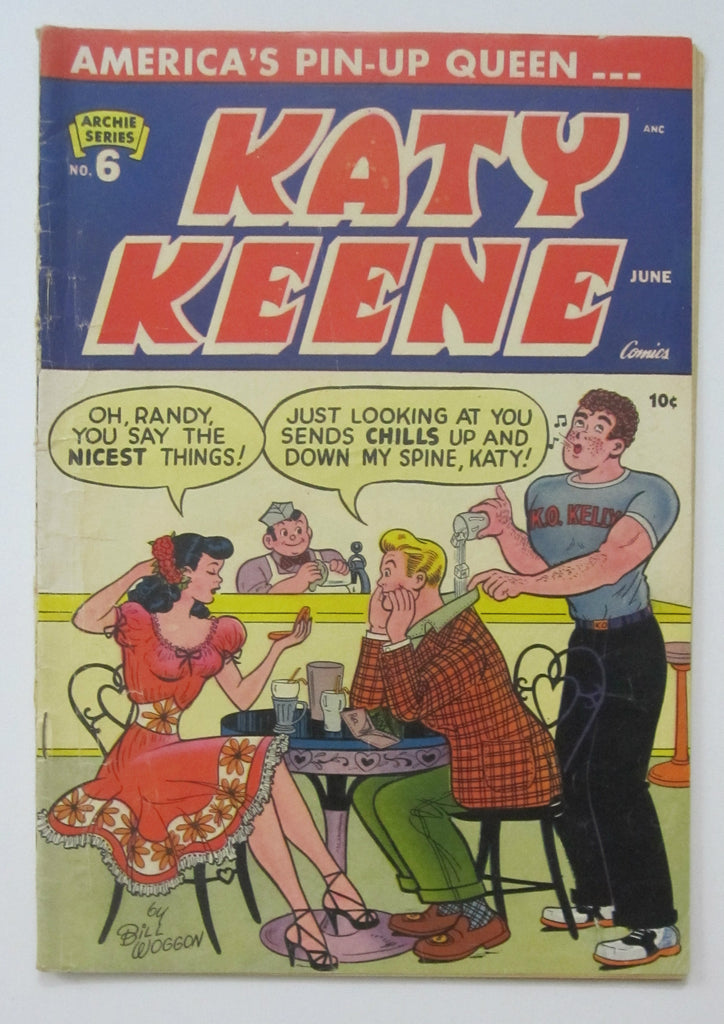 Katy Keene #6 (Jun 1952, Archie) VG 4.0