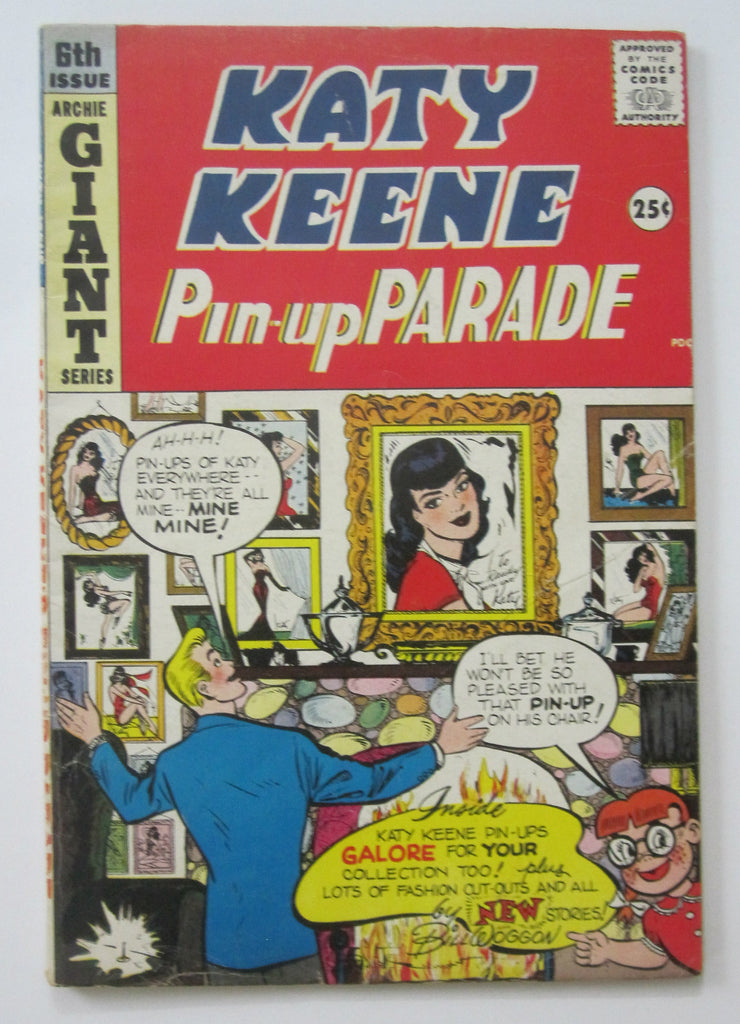 Katy Keen Pin-Up Parade #6 (Spring 1949, Archie) VG/FN 5.0