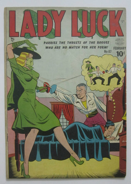 Lady Luck #87 (Feb 1950, Quality Comics) VG 4.0