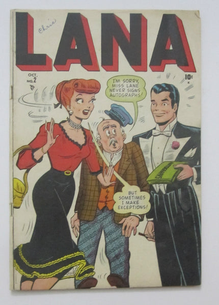 "Lana #2 (Oct 1948, Marvel) Harvey Kurtzman ""Hey Look"" VG 4.0"
