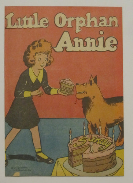 Little Orphan Annie Popped Wheat Promotional Giveaway (1947) VG+ 4.5